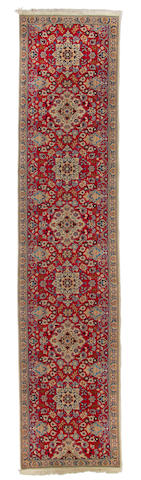 A Nain runner size approximately 2ft. 11in. x 12ft. 2in.