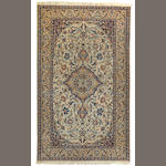 A Nain carpet  size approximately 5ft. 5in. x 9ft. 2in.
