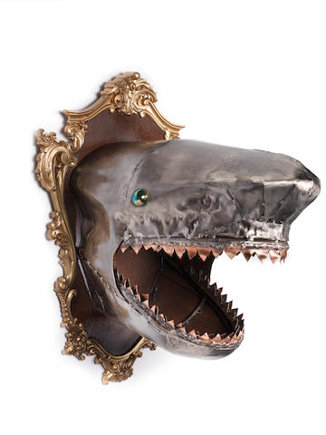 DNTT (Tony D'Amico) (British, born 1960) Shark Head Made in Brixton