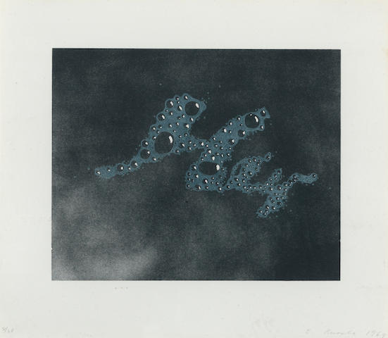 Ed Ruscha (born 1937) Hey, 1969 (E. 28) image 8 x 10in (20.3 x 25.4cm) sheet 11 3/4 x 13 1/2in (29.8 x 34.3cm)