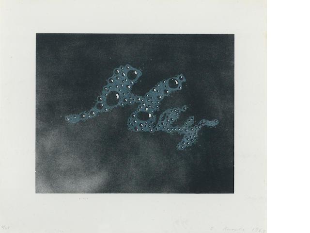 Ed Ruscha (b. 1937) Hey, 1969 8 x 10in<BR />sheet 11 3/4 x 13 1/2in
