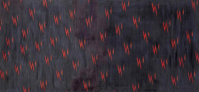 Lee Mullican (1919-1998) Saltillo, 1972 35 x 75in (88.9 x 190.5cm)