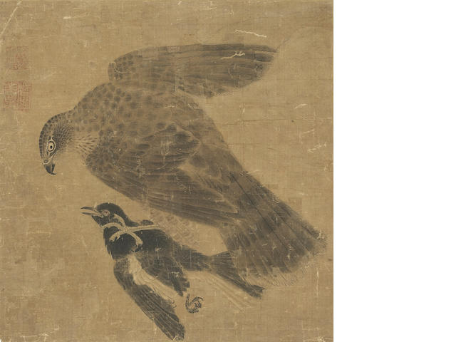 A painting of an eagle (Ming?)