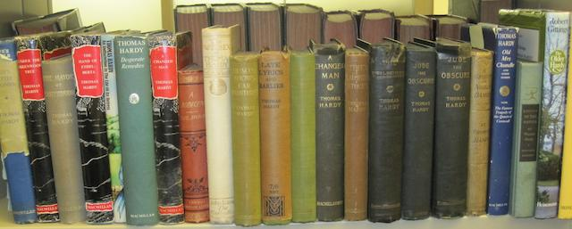 HARDY, THOMAS. 1840-1928. 1. 10 FIRST EDITIONS IN BOOK FORM, comprising: