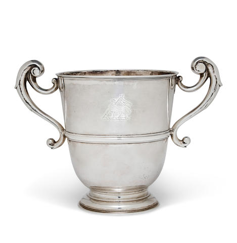 An Irish George II sterling silver two-handled cup Probably by Thomas Bolton, Dublin, 1741