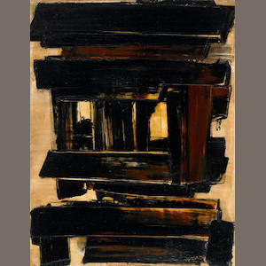Pierre Soulages (French, born 1919) Peinture 116 x 89cm, 1958 45 7/8 x 35 1/4in. (116.5 x 89.5cm)