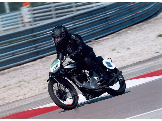 Ben Walker riding at Les Coupes Moto Legende, Dijon