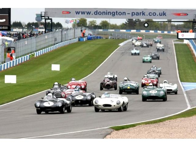 Bonhams sponsor the Donnington Historic Festival
