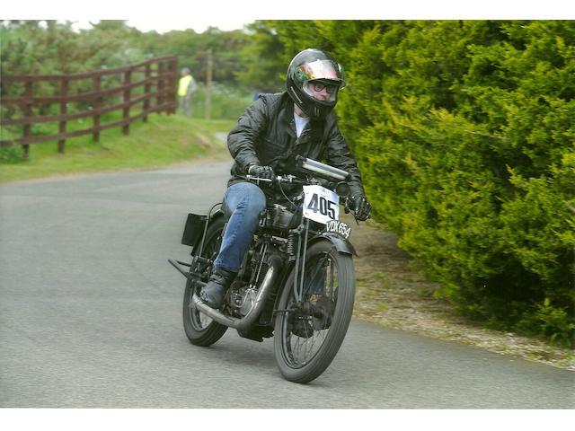 Nicholas Biebuyck on the VMCC Banbury Run