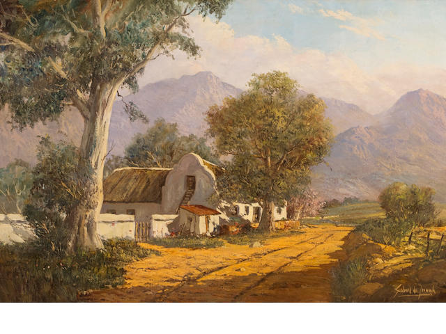 Gabriel Cornelis de Jongh (South African, 1913-2004)