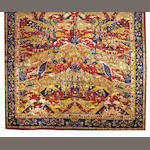 An Agra carpet  India size approximately 15ft. x 31ft.