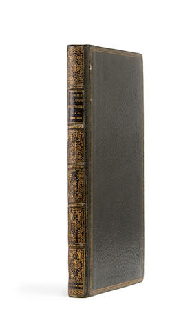 TENNYSON, ALFRED AND CHARLES. Poems by Two Brothers. London and Louth: W. Simpkin and R. Marshall; J. and J. Jackson, 1827.
