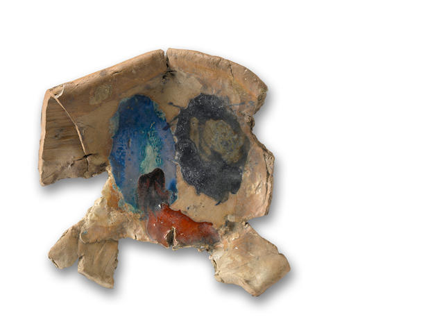 Peter Voulkos (1924-2002) Untitled (Plate), 1962 17 x 19 x 4in (43.2 x 48.3 x 10.2cm)
