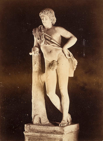 Two Photographs of Classical Sculpture