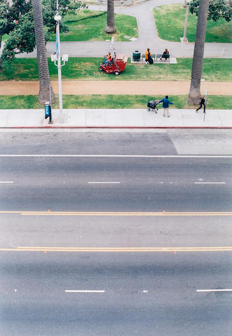 Wolfgang Tillman The Street from Above Color photograph h x w: 16 x 12 in., sheet (40.64 x 30.48cm)