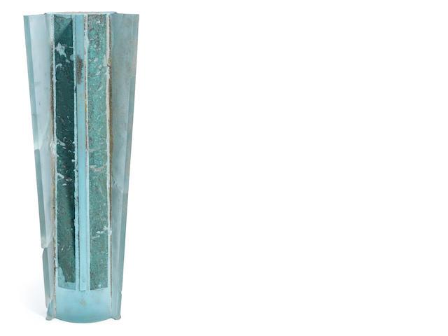 Howard Ben Tré (American, born 1949) Columnar form sculpture, circa 1982