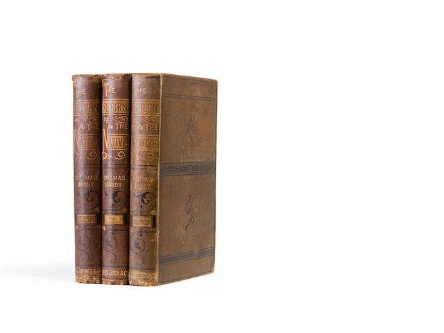HARDY, THOMAS. 1840-1928. The Return of the Native. London: Smith, Elder, & Co., 1878.<BR />