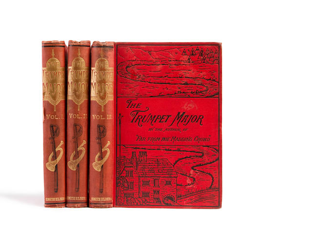 HARDY, THOMAS. 1840-1928. The Trumpet-Major. London: Smith, Elder, & Co., 1880.<BR />