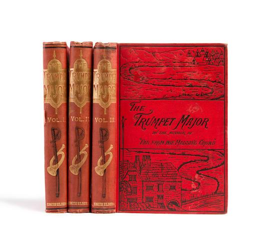 HARDY, THOMAS. 1840-1928. The Trumpet-Major. London: Smith, Elder, & Co., 1880.<BR />