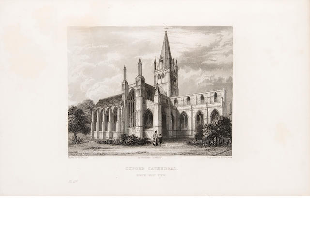 [HARDY, THOMAS. 1840-1928.]  MOULE, THOMAS. Winkles's Architectural and Picturesque Illustrations of the Cathedral Churches of England and Wales.... London: Tilt and Bogue, n.d., 1838-1842.<BR />