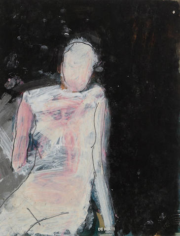 Manuel Neri (born 1930) Posturas Study No. 28, 1984 12 x 9 1/4in (30.5 x 23.5cm)