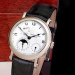 Patek Philippe. An 18K white gold automatic wristwatch with power reserve date and moon phaseRef:5054G-001, Case no. 4179222, Movement No: 3167372/4179222