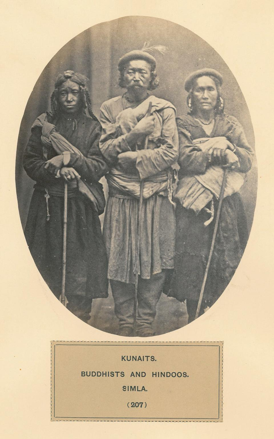 WATSON, JOHN FORBES, AND JOHN WILLIAM KAYE. The People of India: a Series of Photographic Illustrations, with Descriptive Letterpress, of the Races and Tribes of Hindustan. London: India Museum: 1868-1875.