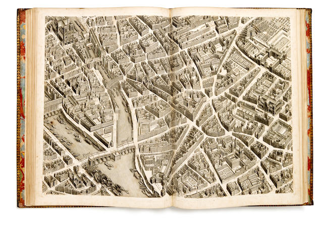 Plan de Paris, Turgot ca 1734-39