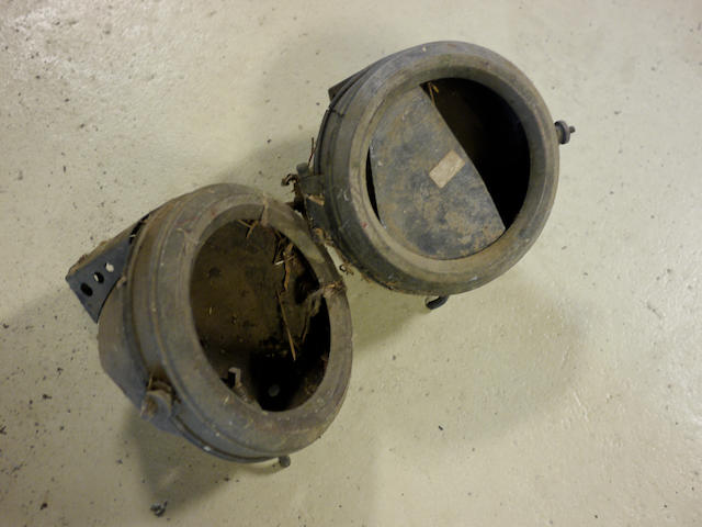 A good pair of small acetylene head/sidelights