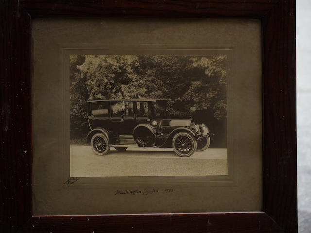 A good, original photo of a 1920 Pierce-Arrow Series 51 Enclosed Limousine,