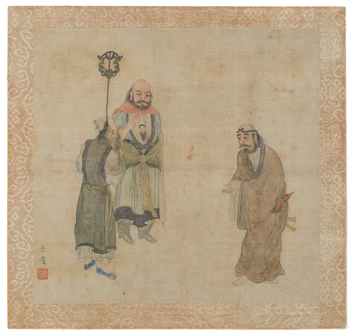 Hua Ziyou (early 19th century) Lohans