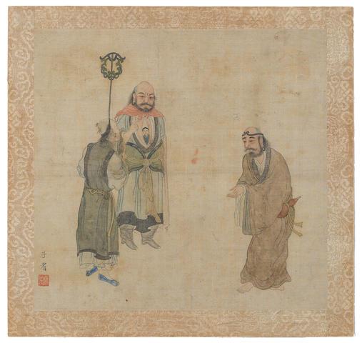 Hua Ziyou (early 19th century) Lohans