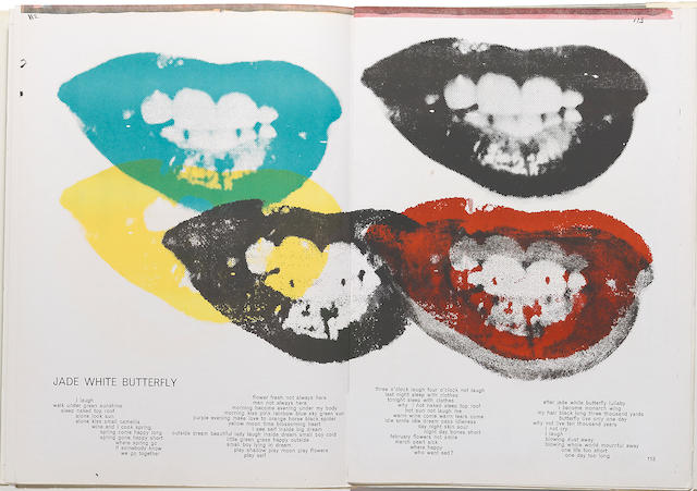 [WARHOL, ANDY, SAM FRANCIS & OTHERS.] TING, WALLASE. ONE CENT LIFE. Bern: E.W. Kornfeld, 1964.