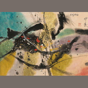 Domoto Insho (1891-1975). Abstract Painting