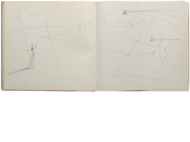 DALI, SALVADOR. MORSE, A. REYNOLDS. Dali: A Study of His Life and Work. Greenwich, CT: New York Graphic Society, [1958].