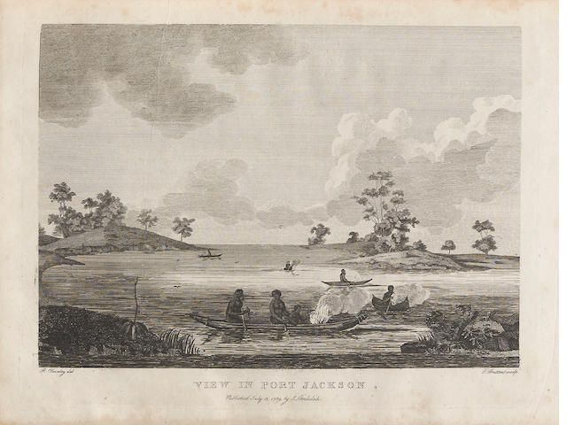 PHILLIP, ARTHUR. 1738-1814. The Voyage of Governor Philp to Botany Bay. London: for John Stockdale, 1789.