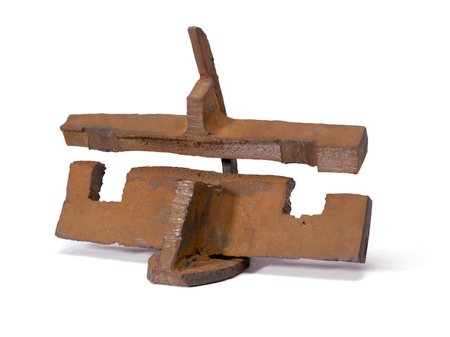Mark di Suvero (born 1933) Untitled, 1970 11 3/4 x 16 1/2 x 9in (29.8 x 41.9 x 22.9cm)