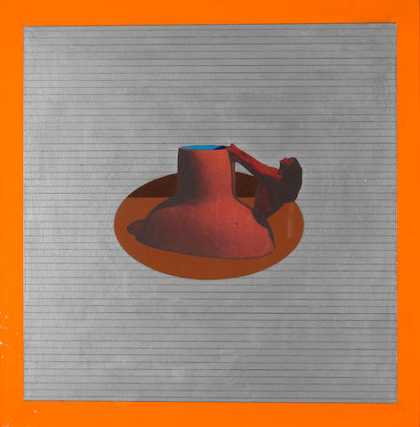 Ken Price (1935-2012) Chinese Figurine Cup IV, 1969 15 1/2 x 15 1/4in (39.4 x 38.7cm)