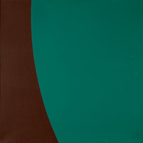 Alexander Liberman (1912-1999) Rite II, 1962 26 x 26in (66 x 66cm)