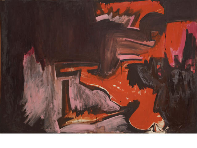 Hassel Smith (1915-2007) Number 4, 1952 67 x 99in (170.2 x 251.5cm)