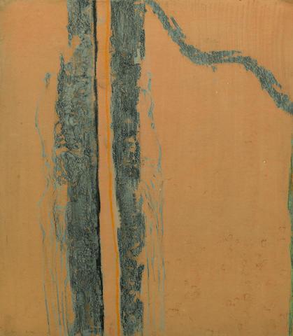 Richards Ruben (1925-1998) Love Letter #2, 1961; Untitled, 1962 (2) 18 x 12in (45.7 x 30.5cm); 17 x 14 3/4in (43.2 x 37.5cm)