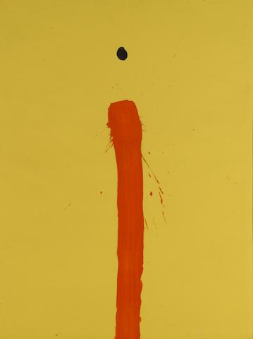 Emerson Woelffer (1914-2003) Untitled, 1966 24 x 18in (61 x 45.7cm)