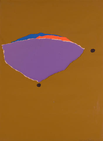 Emerson Woelffer (1914-2003) Untitled, 1967 24 x 18in (60.9 x 45.7cm)