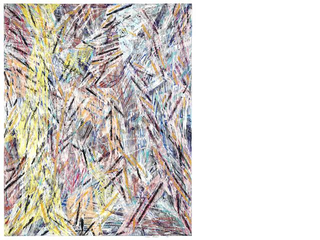 Charles A. Arnoldi (born 1946) Tachachipi, 1985 90 x 74in (238.8 x 188cm)
