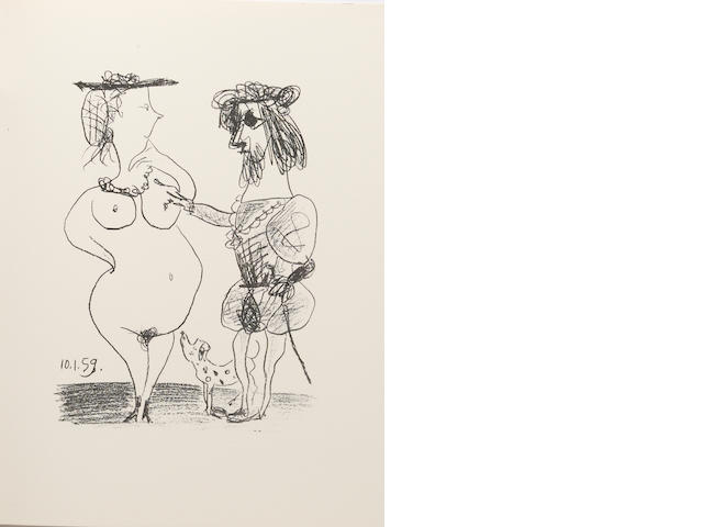[PICASSO, PABLO, MARC CHAGALL & OTHERS.] MOURLOT, FORNAND. Souvenirs et portraits d'artistes. Paris: [Mourlot, 1972].