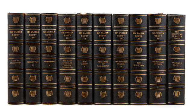 SCOTT, WALTER, SIR. 1771-1832. [Works.] Boston: Houghton Mifflin, 1912-13.