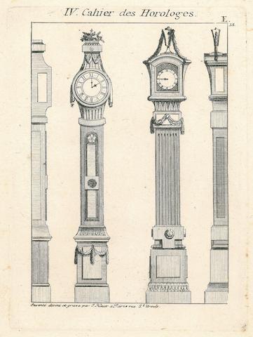 HAUER, JOHANN THOMAS. 1748-1820. Desseins de la mode neuve au gout antique pour les architects en general et specialement pour servir a divers artisans. Paris: J. Hauer, [c.1780].