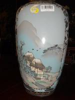 A large Japanese Satsuma vase