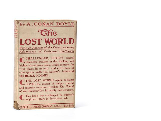 DOYLE, ARTHUR CONAN, SIR. The Lost World. New York: Hodder & Stoughton and George H. Doran, [1912.]