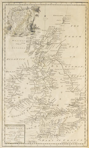 BERKLEY, GEORGE. d. 1747. HILL, JOHN. The Naval History of Britain. London: T. Osborn and J. Shipton, et al., 1756.